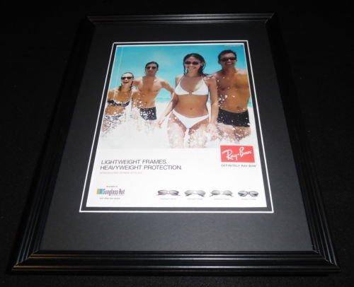 1999 Ray Ban Sunglasses 11x14 Framed ORIGINAL Vintage - Sunglasses Auction
