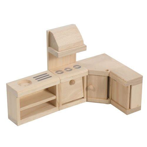 PlanToys Classic Kitchen Doll House Furniture (Toys Plan Kitchen Stove)