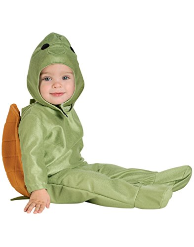 Rubie's EZ-On Romper Costume, Turtle, 1 to 6 -