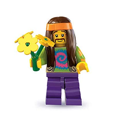 Lego Series 7 Hippie Mini Figure: Toys & Games