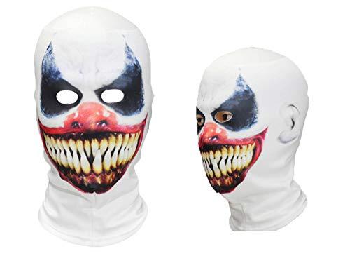 Scary Clown Puppet Costumes - 3D Full Head Horror Smile Killer