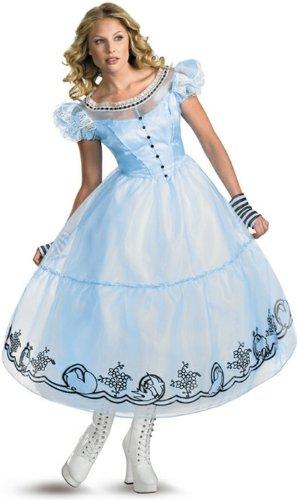 Deluxe Alice Costume - Small - Dress Size 4-6 -