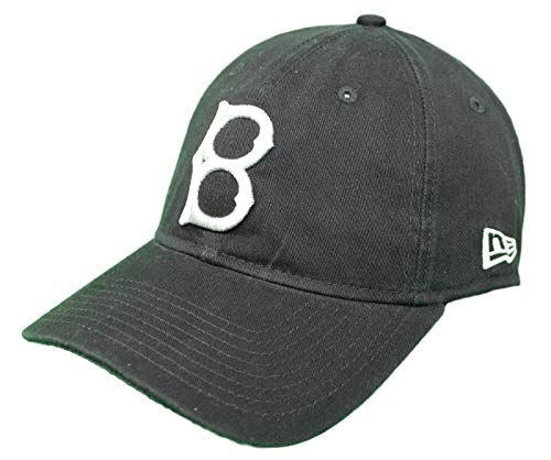 New Era Brooklyn Dodgers Cooperstown Twill Core Classic Adjustable Black Hat