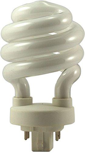 Eiko 05250 - SP18/27-4P - 18 Watt Compact Fluorescent Spiral Light Bulb, GX24q-2 Base (4 - Compact 18w