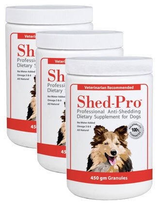 3-PACK Shed Pro Granules for DOGS (1362 gm), My Pet Supplies