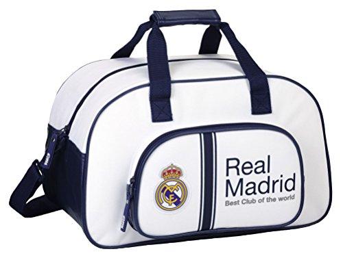 REAL MADRID Sport Bag - Borsa da viaggio (40 x 24 x 23 cm)