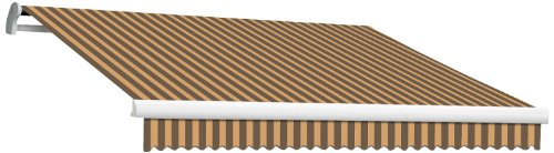 Awntech Retractable Awnings (AWNTECH 10-Feet Maui-LX Manual Retractable Awning, 96-Inch, Brown/Tan)