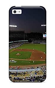 Durable Protector Case Cover With Los Angeles Dodgers Hot Design For Iphone 5c