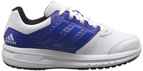 adidas Performance Duramo 7K zapatilla de running (poco Kid/Big Kid) White/Blue/Bold Blue
