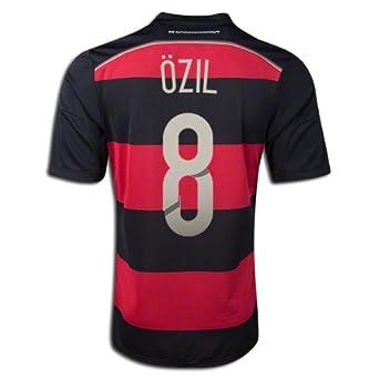 sale retailer f1972 5b3f7 Amazon.com: Adidas Mesut Ozil #8 Germany 2014 FIFA World Cup ...