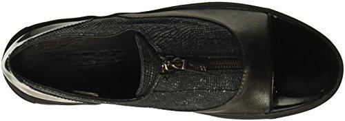 Gunmetal Gunmetal The Sneaker IT Lapo Flexx Black Mix Zip Women's Black ZqYwZgS