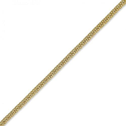 7mm Bracelet Chaîne Imagination Tuyau rond or jaune 750, 19cm