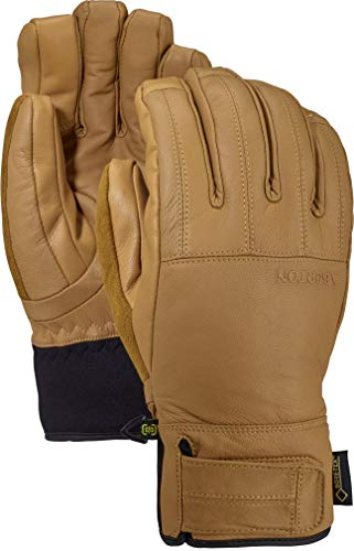 Burton Men's Gore-Tex Gondy Leather Glove, Raw Hide W20, Large