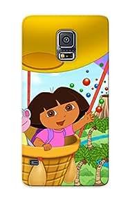 Clear New Fashion Premium Tpu Clear Case Cover For Galaxy S5 - Dora The Explorer Party Favorite Llega A La Tienda El Marte 9 De Case For New Year's Day's Gift