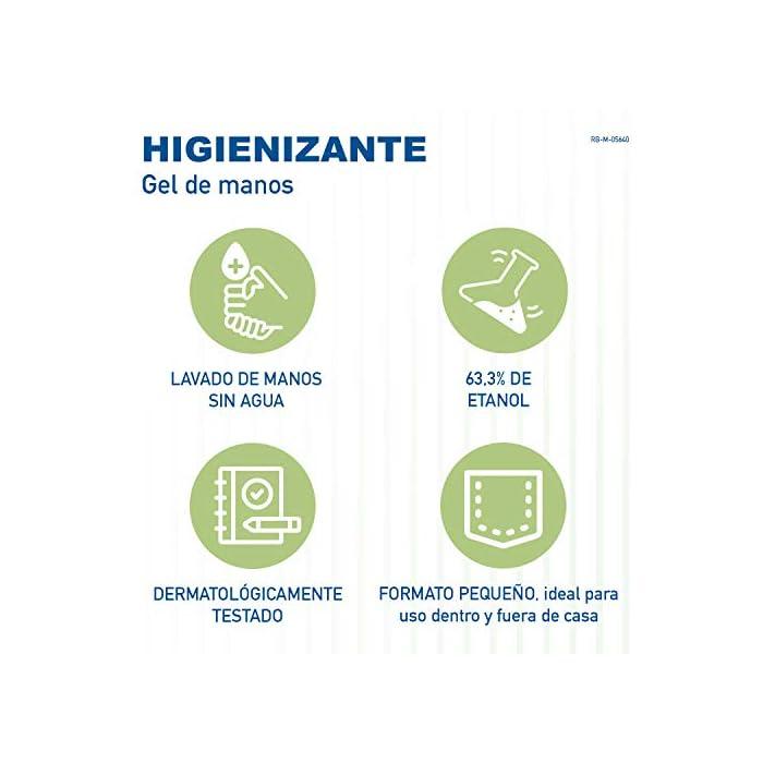 41IZbn34UFL Gel hidroalcoholico antibacteriano para las manos Gel higienizante de manos antiséptico para piel sana Gel desinfectante para usar para complementar el lavado habitual de las manos