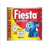 Fiesta Jumbo kökshandduk - 1 rulle (totalt 600 ark)