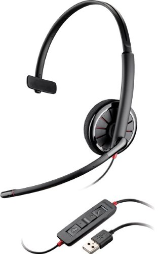 Plantronics 85618-01 Wired Headset, (Plantronics Audio 300 Usb)
