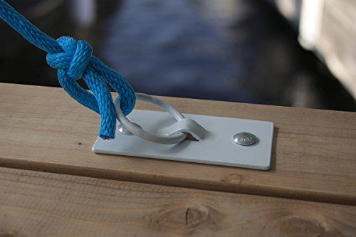 Dock Edge EZE Zinc Dock Cleat