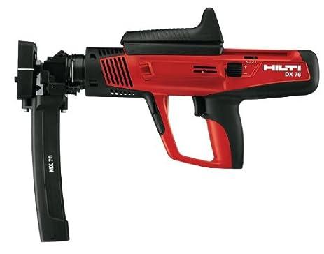 powder actuated tools. hilti dx 76-mx semi-automatic powder-actuated tool - 285794 powder actuated tools l