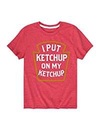 Instant Message Ketchup On Ketchup - Toddler Short Sleeve Tee