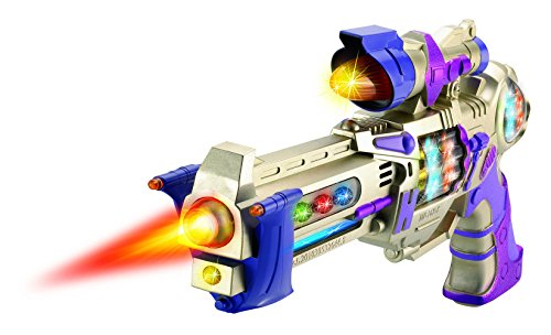 Galactic Police Spinning Lights Blaster
