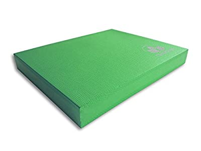 "Clever Yoga X-Large Balance Pad 19.75""x15.75""x2.5""- Comes With Our Special ""Namaste"" Lifetime Warranty (5 Colors)"