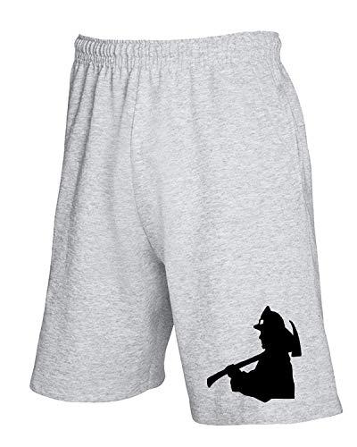 shirtshock Tuta T Fireman Pantaloncini Fun0346 Grigio GLzUMjqSVp