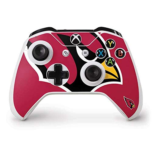 Skinit Decal Gaming Skin for Xbox One S Controller - Officially Licensed NFL Arizona Cardinals Large Logo Design