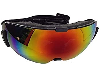 3d12cb2fbb4c Dirty Dog Adults Blizzard Frameless Ski Goggles with Red Fusion Mirror Lens  (54090)