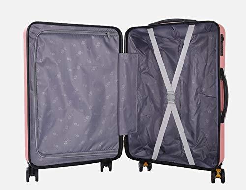 LIUFENGLONG Universal Wheel Trolley case Luggage Small Fresh Suitcase LIUFENGLONG Size : S