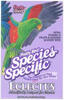 Pretty Bird International Bpb78318 Species Specific Special Eclectus Food, 8-Pound