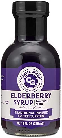 Cassie Green Health Elderberry Syrup