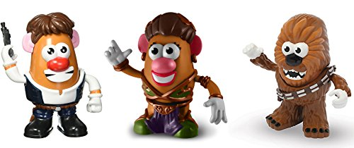 Mr Potato Head Costume Toddler (Star Wars Collectible Toys Set of 3 Action Figures - Chewbacca, Princess Leia, Han Solo by Mr. Potato Head)