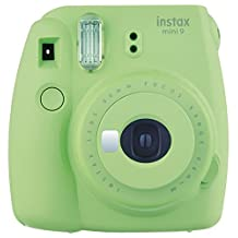 Fujifilm Instax Mini 9 Instant Camera - Lime Green (Renewed)