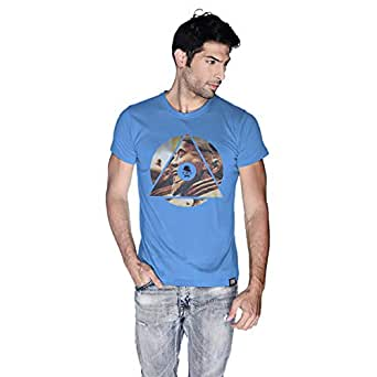 Creo China T-Shirt For Men - S, Blue