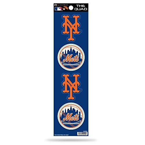 MLB New York Mets Quad Decal -