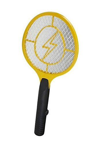 BuzzKiller Electronic Fly Insect Bug Mosquito Swatter Zapper Killer Indoor Outdoor Handheld Portable Racket Trap