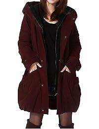 Women's Winter Outwear Hoodie Coat with Big Pockets