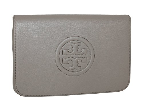 CONVERTIBLE TORY BURCH LEATHER CLUTCH BOMBE tUPqwBA