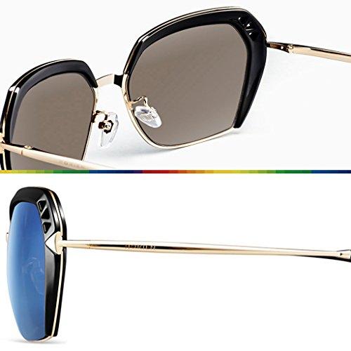 soleil lunettes Blanc lady polarisées de Élégantes qpOSZ6p