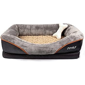 Amazoncom American Kennel Club Memory Foam Sofa Pet Bed X