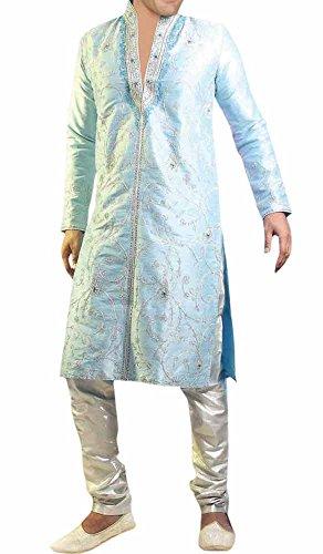 INMONARCH Mens Eye Catching Bollywood Designer Sherwani SH270 36XL Sameasshown