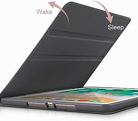 Funda para iPad Mini 5 - Soporte Folio Estuche para iPad Mini 5ta generación con múltiples ángulos de visión, Auto Wake/Sleep, Zapatillas de Deporte,Amarillo,withoutpencilholder: Amazon.es: Hogar