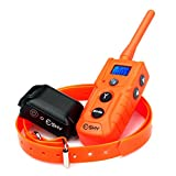 Esky 330 Yards Backlight LCD Remote Shock Control Pet E-collar EC-916 Rechargeable and Fully Waterproof Dog Training Collar