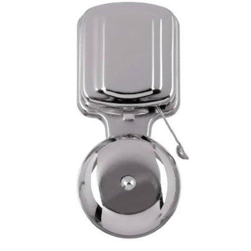 Chrome Doorbell (THOMAS & BETTS DH922 2-1/2
