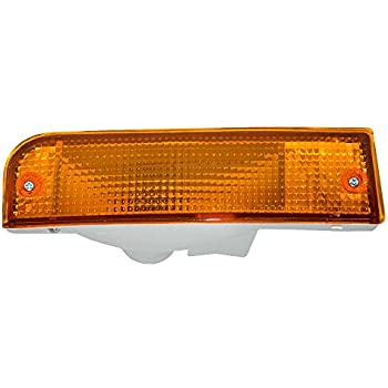Passengers Park Signal Front Marker Light Lamp Lens Replacement for Toyota SUV 8151135401 AutoAndArt