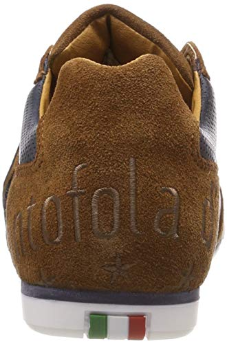 Ginnastica Pantofola Low D'oro jcu Shell Scarpe Uomo tortoise Scudo Basse Da Imola Marrone Ur6IUqx0