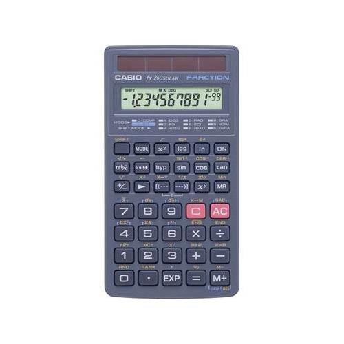 Casio Solar Scientific Calculator FX260HA is a solar scie...