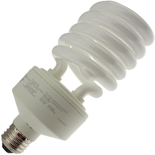 - TCP Item 28942H27741K 42W CFL Spiral E39-Mogul 277V Light Bulb (Case of 12)
