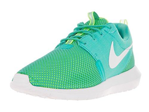 Nike Men's Rosherun NM BR Lt Retro/White/Volt Running Shoe 9.5 Men US